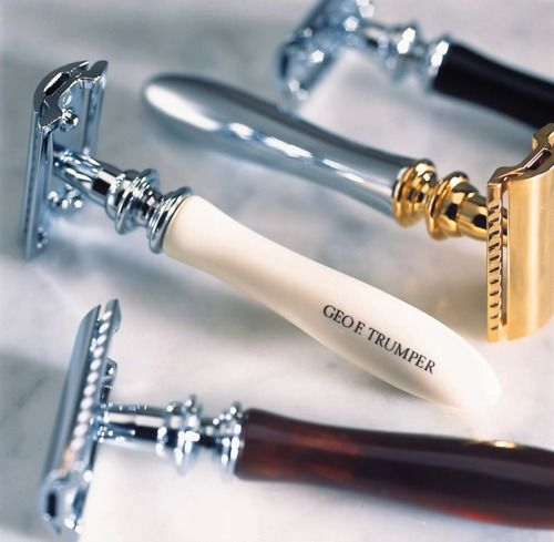 The art of the shave ...#DoubleEdgeRazor - NOT for the novice or faint of heart