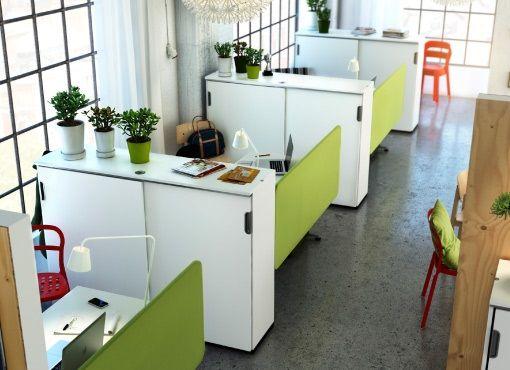 Oficinas con cubiculos buscar con google ideas para for Mobiliario de oficina ikea