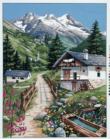 Mercerie Mountain Pastures