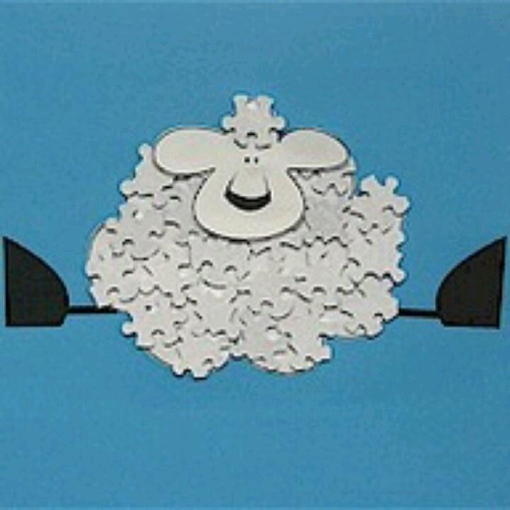 Jigsaw sheep