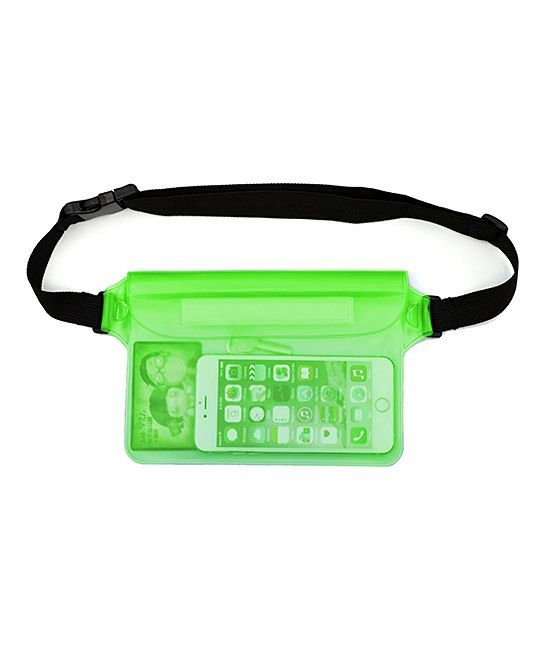 Green Waterproof Fanny Pack