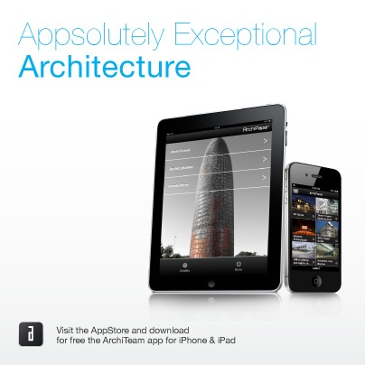 Get for FREE our new iPhone + iPad APP!   and have an APPsolutely new architectural experience!..