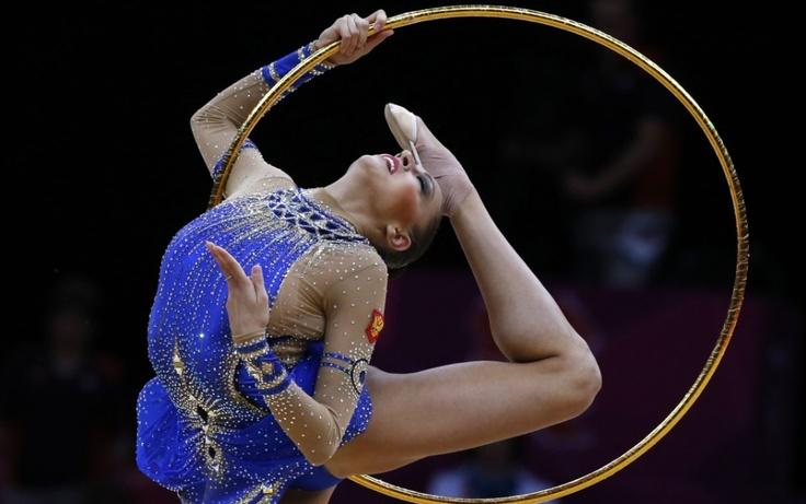 Evgeniya Kanaeva, Russia rhythmic gymnastics squad.