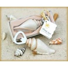 Sea Shell Bottle Opener Wedding Favour