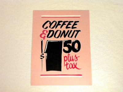 365 best money images on pinterest sign painting calligraphy coffee donut malvernweather Gallery