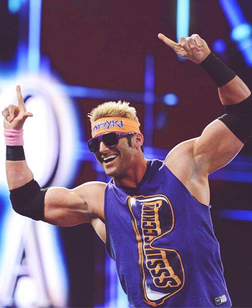 Zack Ryder , he will always be my favorite wrestler due to the fact that he got himself over without the help of WWE creative
