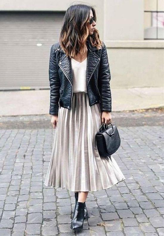 stilvolle Möglichkeiten, Stiefeletten richtig zu tragen