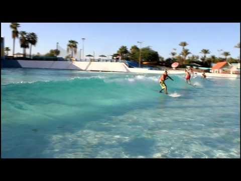 Tempe Arizonas Big Surf Huge AIR Wakeboarding Skateboarding Surfing Competition