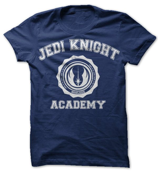 Jedi Knight Academy Buy Now for SALE >>>https://www.sunfrogshirts.com/jedi-knight-academy-star-wars-navy.html?7782