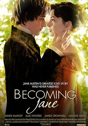 """Becoming Jane.- When she started to write """"pride and prejudice"""""""