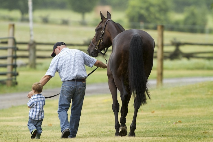 Isn't horse racing just for rich people?  (Photo Courtesy David Landry)