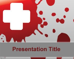 Public Health PowerPoint Template is a free template for health PowerPoint presentations but can also be used in public health sector