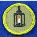 Scouting Memorabilia :: National BSA Issued Items :: Merit Badges :: Type F Rolled Edge Twill MB 1961 - 1968 :: Metalwork RET - Boy Scout Store - Boy Scout Collectibles & Memorabilia & Gifts