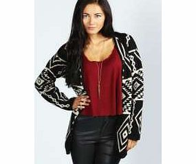 boohoo Aztec Print Cardigan - black azz14785 Go back to nature with your knits this season and add animal motifs to your must- haves. When youre not wrapping up in woodland warmers, nod to chunky Nordic knits and polo neck jumpers in peppered ma http://www.comparestoreprices.co.uk/womens-clothes/boohoo-aztec-print-cardigan--black-azz14785.asp