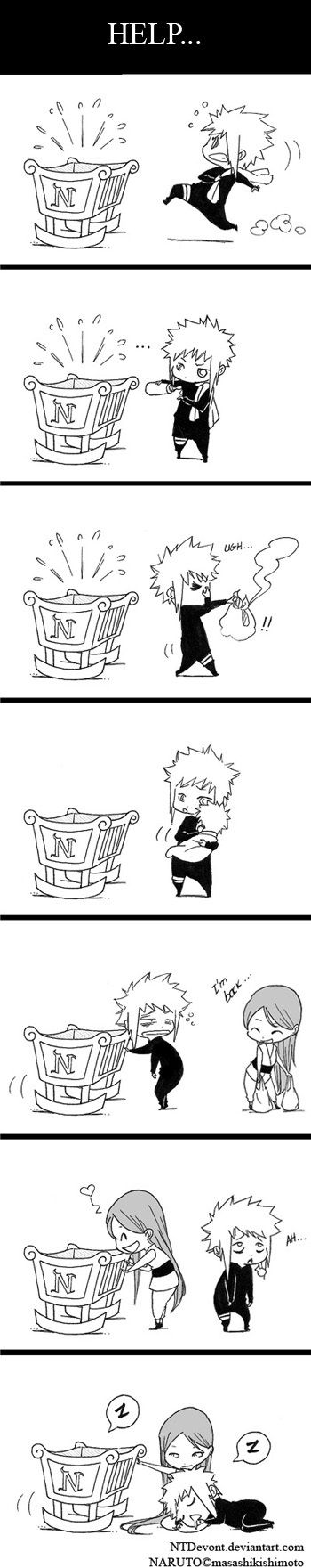 I don't know how I feel about the naruto family comics they just give me to many emotions to deal with
