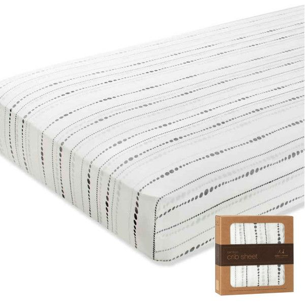 When your little ones drift off to sleep at night, you want to ensure they have the comfiest sleep possible. This is where these beautifully soft bamboo sheets are supreme. A fitted and pre-washed sheet, they are rayon from bamboo fibre muslin. Their tailored design ensures a snug fit with elastic all the way around, eliminating any uncomfortable rises in the fabric when they're sleeping.