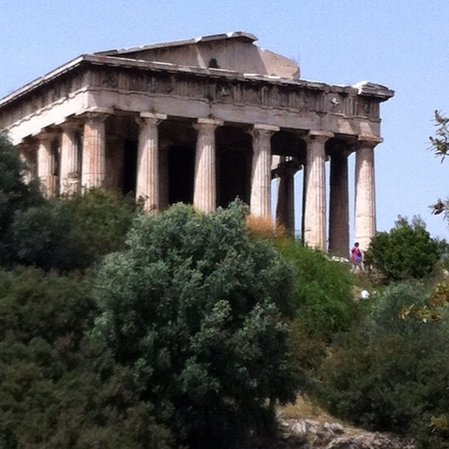 Temple of Hephaestus Athens Greece