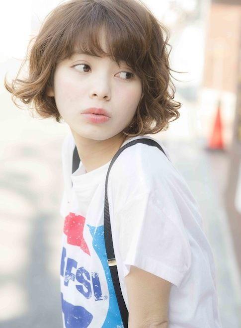 カジュアルウェービー・ボブ☆ 【NORA HAIR SALON】 http://beautynavi.woman.excite.co.jp/salon/22115?pint ≪ #bobhair #bobstyle #bobhairstyle #hairstyle・ボブ・ヘアスタイル・髪型・髪形 ≫