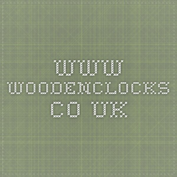 www.woodenclocks.co.uk