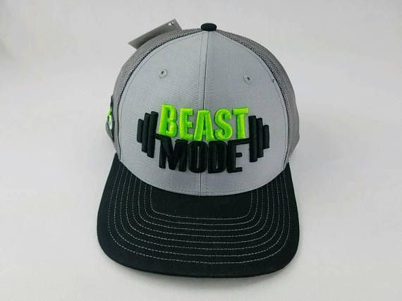 Go Workout with Beast Mode and with style!  https://www.etsy.com/listing/546889550/beast-mode-gym-hat-trucker-hat-fitness