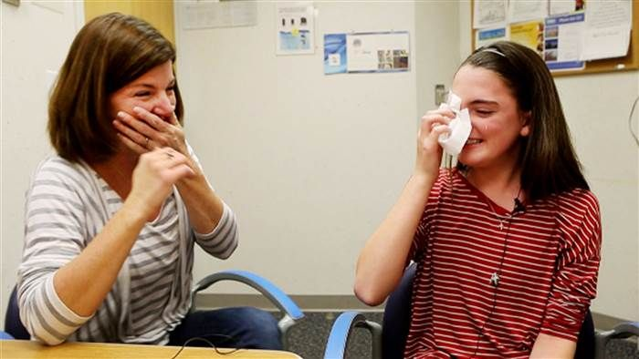 Watch the Emotional Moment When a 13-Year-Old's Hearing Is Restored