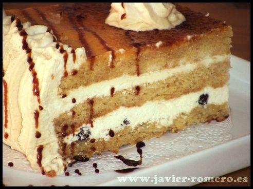 Tarta de caramelo 021 Tarta de caramelo para cumpleaños, receta casera