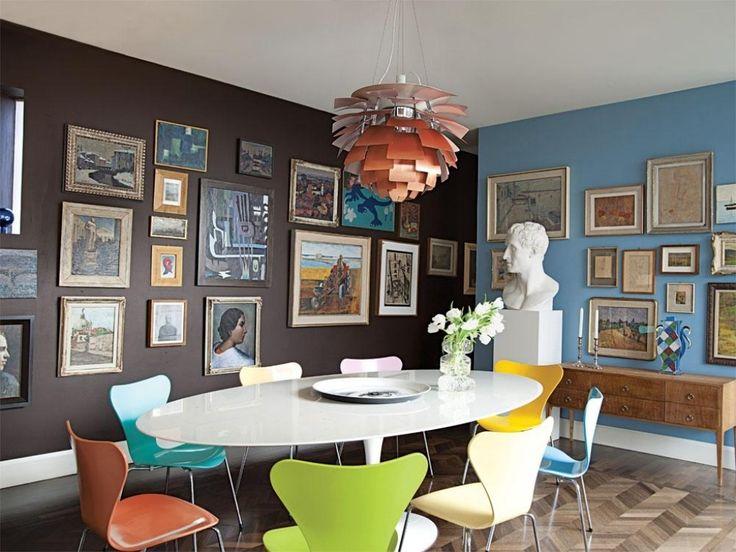 Wohnzimmer Modern Und Antik Ein Zuhause Designt Von Patricia Urquiola Architektur Wohnen