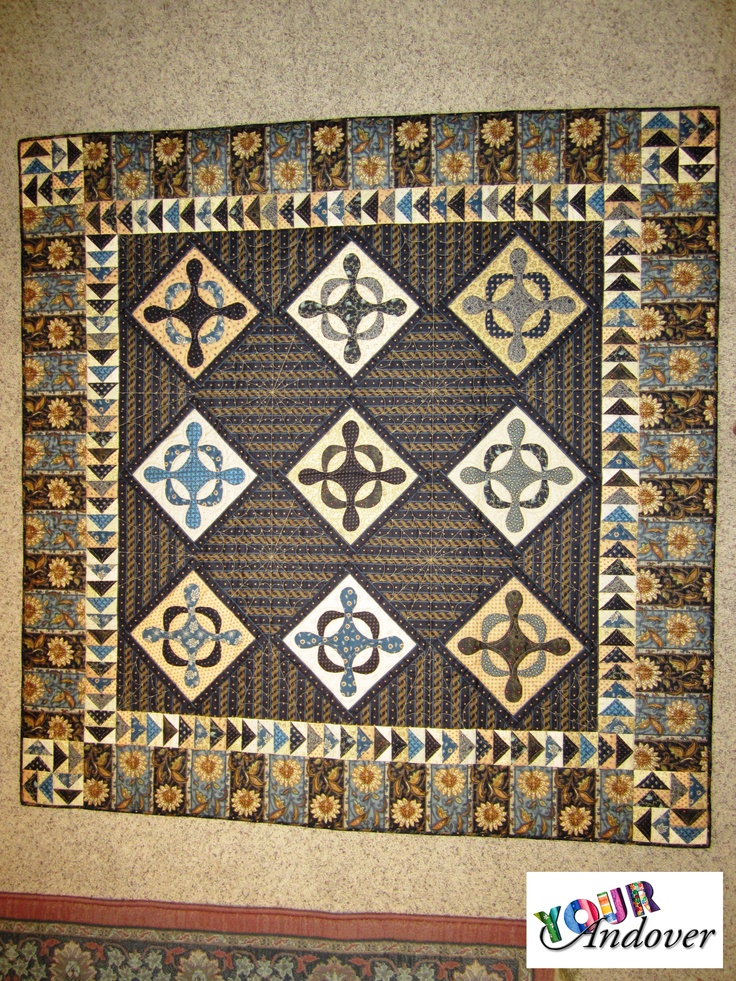 Becky Herron made this lovely quilt using several of our wonderful Jo Morton collections. Like/Repin this post to vote for Becky.