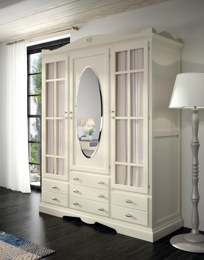 48 best images about armarios de dormitorio con encanto - Dormitorio shabby chic ...