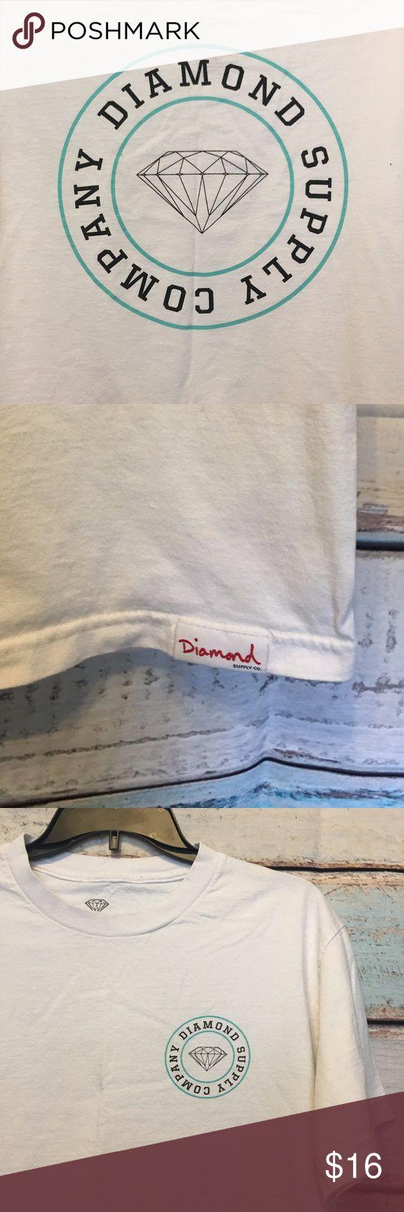 Diamond Supply Company T-Shirt Diamond Supply Company T-Shirt. Size M. 100% Cotton. Pre-loved. No stains or holes. Diamond Supply Co. Tops Tees - Short Sleeve