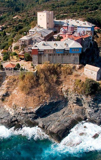 The Monastery of Pantokratoros, Mount Athos, Greece