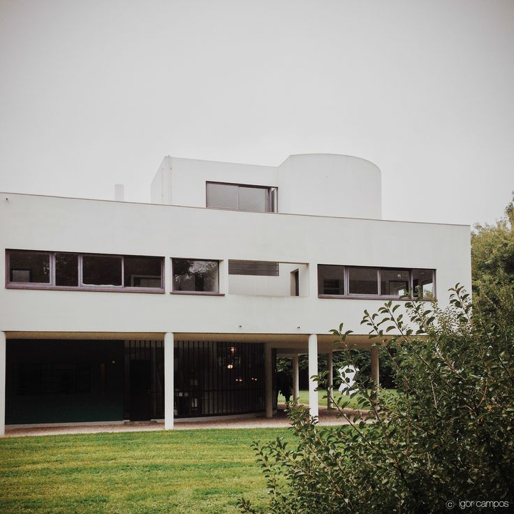 Villa savoye le corbusier poissy corbusier pinterest for Poissy le corbusier