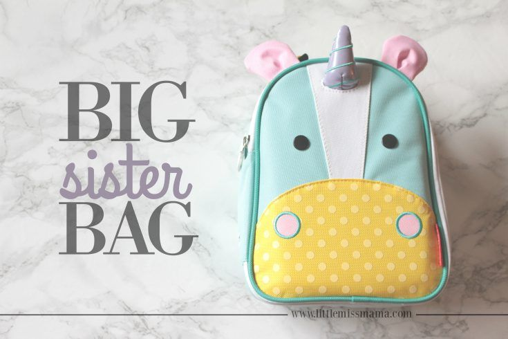 FEATURE: Big Sister Bag (a bag for the older sibling to bring to the hospital for the first time) Big Sister, DIY Big Sister Bag, DIY, Motherhood, Parenting