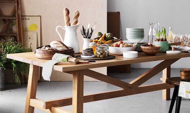 Ikea Mockelby Table