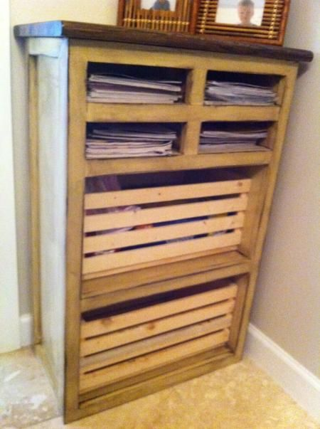 bathroom storage cabinet do it yourself home projects from ana rh pinterest com Do It Yourself Cabinet Plans Do Yourself Cabinet Building