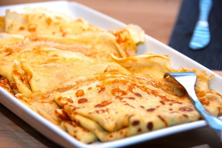 Her er den bedste opskrift på brunch pandekager, der passer perfekt på bordet til en lækker brunch. Pandekagerne laves med bagepulver.