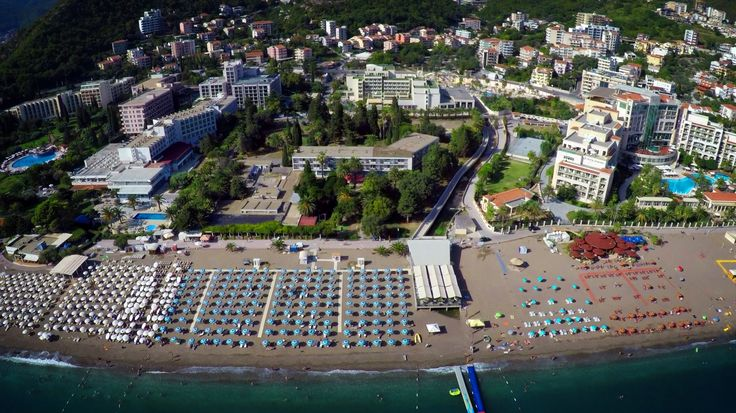 Beach - hotel Mediteran #beach #Montenegro #Budva #Becici #hotelMediteran #sun #vacation #summer #sea #Adriatic