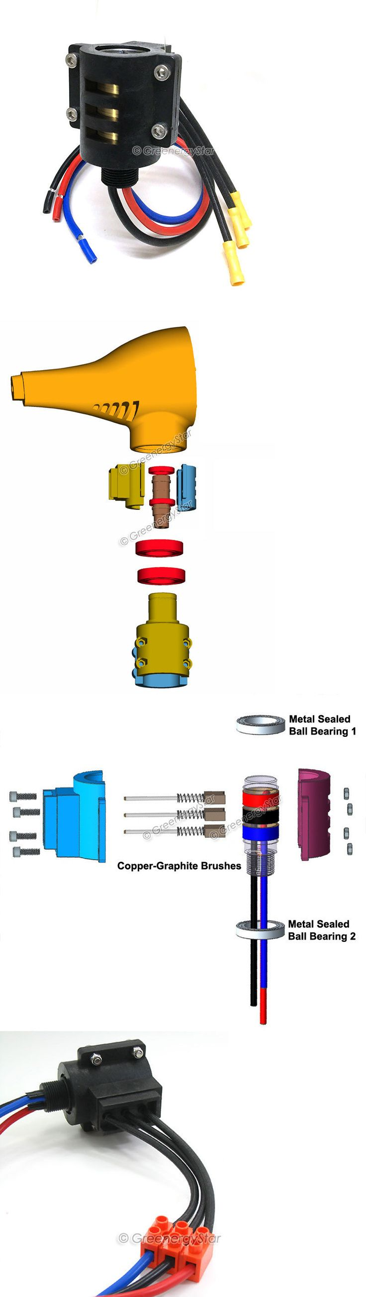 Best Ideas About V Generator On Pinterest Water Turbine - 12v 3 phase wind generator wiring diagram