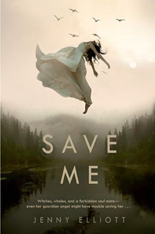 Save Me  This novel is filled with witches, demons, and a guardian angel.  The author did a great job turning an awkward teacher-student relationship, into something special.