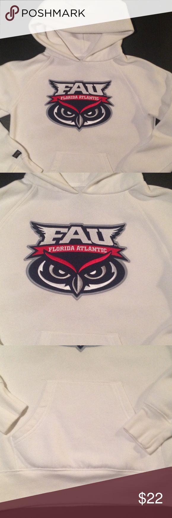 Florida Atlantic University Hoodie Cozy FAU hoodie. Kangaroo pockets. Size small. Chest 36. Made by Jansport. Jansport Tops Sweatshirts & Hoodies