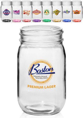 16 oz Mason Jars | Personalized Mason Jars Wholesale 261.40 for 140