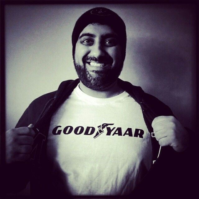 Good Yaar. Funky desi tshirts by Brown Man Clothing Co. Get yours at brownmanclothing.com.