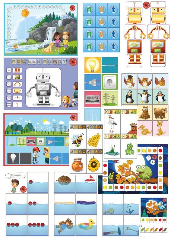 Spellenpakket kinderboekenweek 2015, Raar, maar waar, juf Petra van kleuteridee