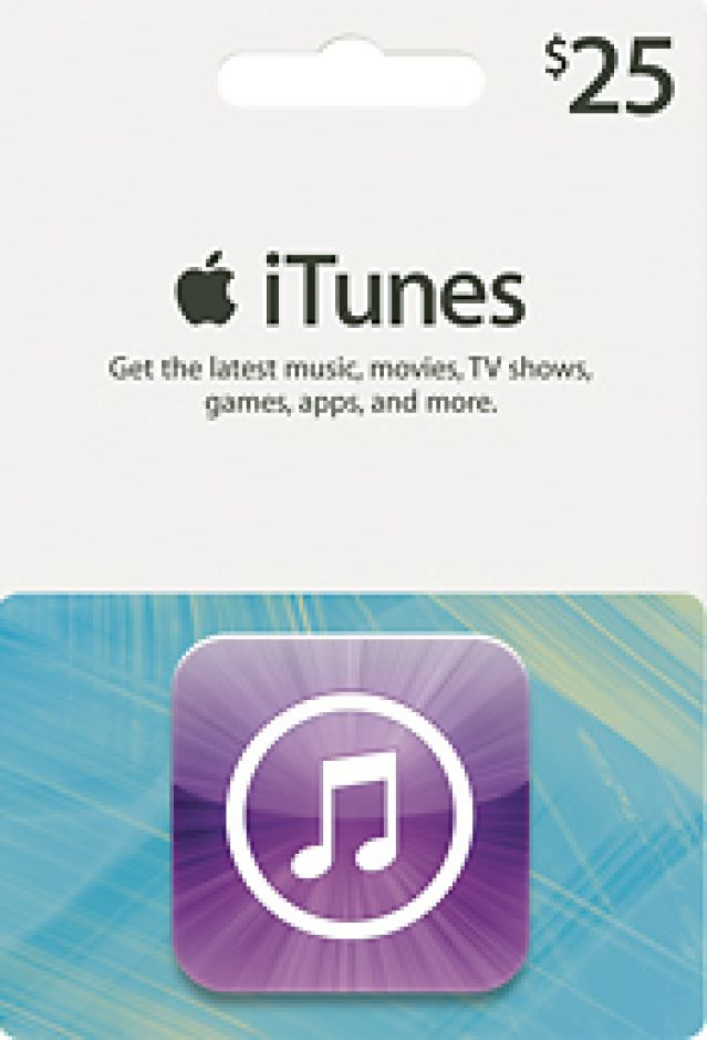 Best Travel Gift Cards & Certificates: iTunes Gift Card