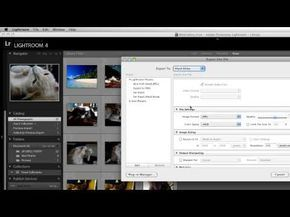▶ How to Convert RAW to JPEG in Lightroom - YouTube