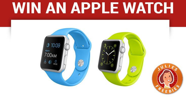 Enter to Win an Apple Watch Sport