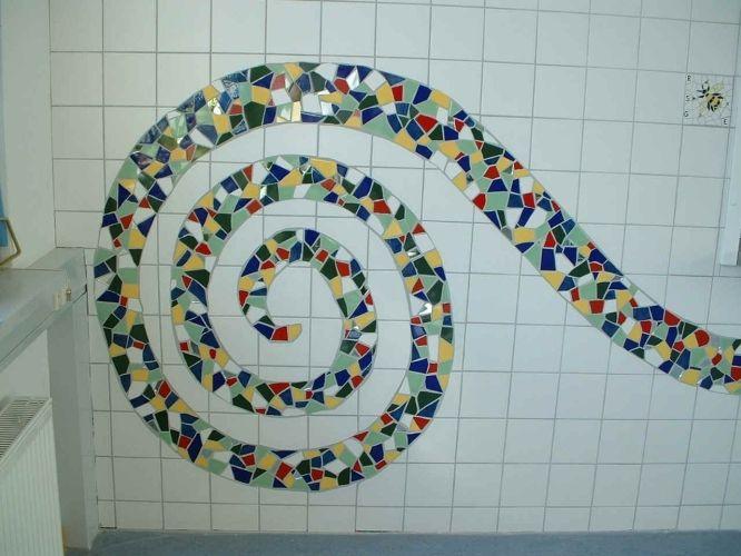 wandbild wandbildermosaikkeramikwnde - Fantastisch Mosaik Flie