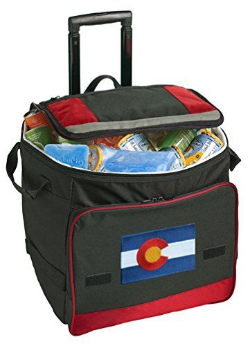 Colorado Rolling Cooler Colorado Flag Wheeled Bags -- Check out the image by visiting the link.