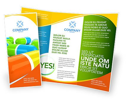 Brochures should have both visually appealing images and informative content.