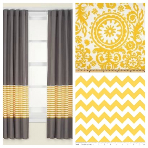 curtain idea - good way to lengthen curtains